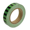 "Directional Arrow Tape 2"" (Black/Green)"